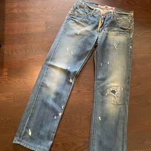 Take Two Vintage high end Italian men's denim pant